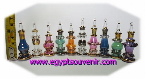 Egyptian Perfume Bottles Tiny Size Model MTT