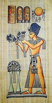 Egyptian papyrus paintings, Ancient Egypt Tomb Scenes (no: 49)