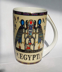Egyptian Porcelain Mug  PORM01