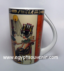 Egyptian Porcelain Mug  PORM05