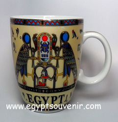 Egyptian Porcelain Mug  PORM07