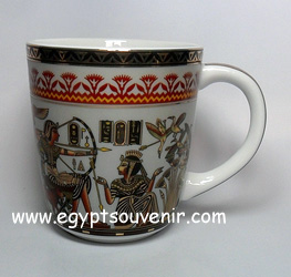 Egyptian Porcelain Mug  PORM24