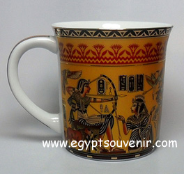 Egyptian Porcelain Mug  PORM31
