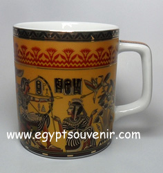 Egyptian Porcelain Mug  PORM37