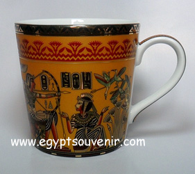 Egyptian Porcelain Mug  PORM19