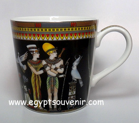 Egyptian Porcelain Mug  PORM20