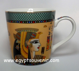 Egyptian Porcelain Mug  PORM21