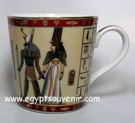 Egyptian Porcelain Mug  PORM22