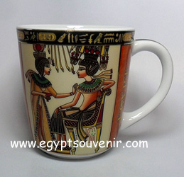 Egyptian Porcelain Mug  PORM26