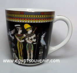 Egyptian Porcelain Mug  PORM28