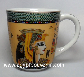 Egyptian Porcelain Mug  PORM30