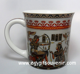 Egyptian Porcelain Mug  PORM32