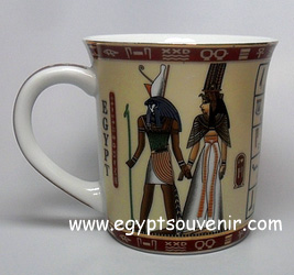 Egyptian Porcelain Mug  PORM34
