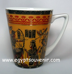 Egyptian Porcelain Mug  PORM11