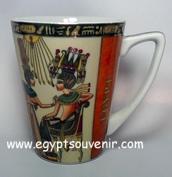 Egyptian Porcelain Mug  PORM12