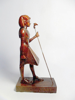 King Tut Ankh Amun Statue, Fighter